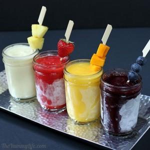 frozen smoothies